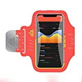 DFV mobile - Professional Cover Neoprene Armband Sport Walking Running Fitness Cycling Gym for Huawei P9 Lite (2016) - Orange