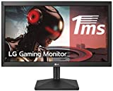 LG 20MK400H-B - Monitor WXGA de 49, 4 cm (19, 5') con Panel TN (1366 x 768 píxeles, 16:9, 200 cd/m², 600:1, 2 ms, NTSC 72%, 60Hz, D-SUB x1, HDMI x1) Color Negro Mate