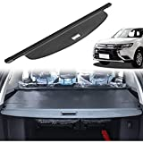 Vehicle Retractable Rear Trunk Parcel Curtain Cover Estantes for Mitsubishi Outlander 2013-2018,Luggage Cargo Security Shield Anti Theft Guard Shade Load Shelf Tidying Decoration Accessories
