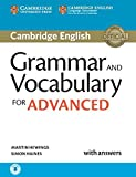 Grammar and Vocabulary for Advanced. Book with Answers and Audio.: Self-Study Grammar Reference and Practice