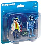 PLAYMOBIL Duo Pack- Scientist with Robot Duo Pack Figura con Accesorios, Multicolor (6844)