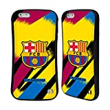 Head Case Designs Oficial FC Barcelona Portero Tercera equipación 2019/20 Crest Kit Carcasa híbrida Compatible con Apple iPhone 6 Plus/iPhone 6s Plus
