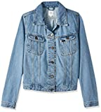 Lee Rider Jacket, Chaqueta vaquera Mujer, Azul (Super Stonewash 66), Medium