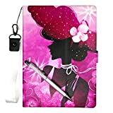 Lovewlb Tablet Funda para Wolder miTab One 10 Plus Funda Soporte Cuero Case Cover SN