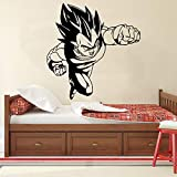 Anime dibujos animados cómics Dragon Ball Z DBZ personaje Super Saiyan Goku Vegeta Fight pared coche pegatina vinilo arte calcomanía niño dormitorio sala de estar decoración del hogar