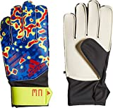 adidas PRED J MN Guantes de Fútbol, Unisex niños, Solar Yellow/Football Blue/Active Red, 8