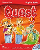QUEST 1 Pupil's Book - Pack (Pupil's Book + CD-ROM + Audio CD Songs + Key Booklet 1) (Tiger) - 9780230415942
